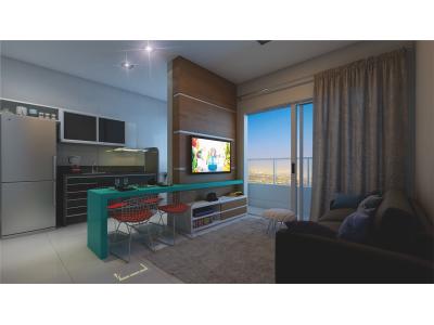 Apartamento, 1 quarto, 45,25 m2