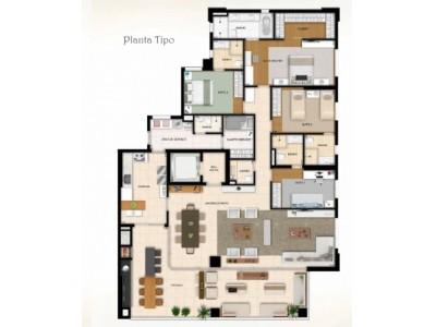 Apartamento, 6 quartos