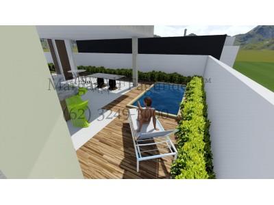 Condominio horizontal, 4 quartos, 289 m2
